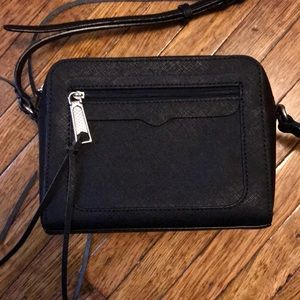 rebecca minkoff black crossbody bag